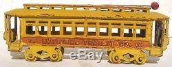 Kenton Cast Iron Train trolley car 15 2 door