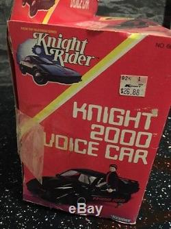Knight Rider 2000 Voice Car With Michael Knight Extremely Rare Sealed Contents