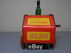 Lehmann Germany Vintage 1920's Tinplate Epl 700 Also Car Ultra Rare Item Vg