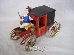 Lehmann No. 420 MOTOR CAR Tinplate Clockwork Horse-less Carriage 1897-1935