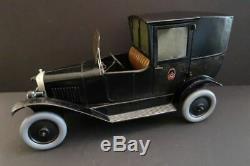 Les Jouets CITROEN Taxi B2 Tin Toy Car 141/2 France 1925