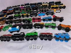 Lot of 78 Thomas The Train Tank Engine Wooden Trains and Cars Bulk RARE Vintage