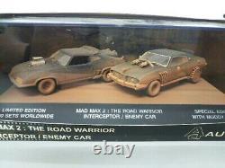 MAD MAX2 THE ROAD WARRIOR INTERCEPTOR / ENEMY CAR 143 Vintage toys