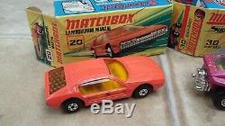 MATCHBOX SUPERFAST NUMBER G-7 CAR FERRY SET ORIGINAL BOX VINTAGE 1970's