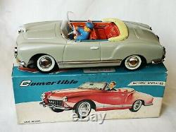 ME no. 612 VW Karmann Ghia Car China Battery Tin Toy Blechspielzeug Boxed Rare
