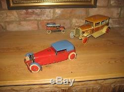 MECCANO CONSTRUCTOR CAR #1 ORIGINAL 1930's WORKS INSTRUCTIONS TINPLATE TIN TOY