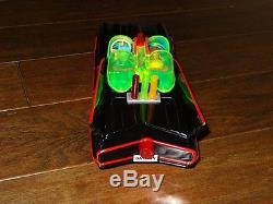 MIB 1960's ASC Aoshin Black Batmobile Car Battery Operated withOriginal Box. Work