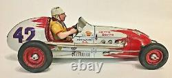 Magnificent 1950/60's large size (49cms long) tinplate Gem friction drive toy