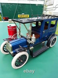 Mamod Steam car conversion Heavy Tin plate toy car. Free UK post
