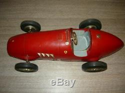 Marchesini Ferrari 500 F2 Toschi Auto Giocattolo In Latta Tin Toy Car Scala 1/8