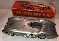 Marklin Mercedes Formelrennwagen Vintage Diecast race Car W Box 5524/11