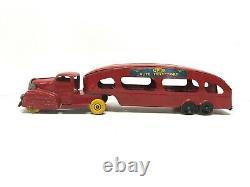 Marx Toys Auto Transport, Vintage 1950's, No Cars