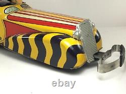 Marx Toys Mccarthy & Snerd Well Mow You Down Tin Litho Wind Up Car Near Mint
