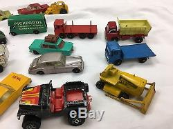 Matchbox cars vintage Lesney Diecast England Toys Collectible LOT