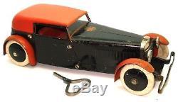 Meccano Car Constructor Set No. 1 1930's Clockwork Ultra Rare