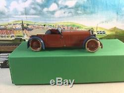 Meccano Motor Car Constructor No. 1 Clockwork Red / Blue / Cream