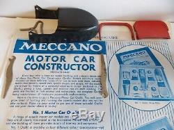 Meccano constructor car number 1