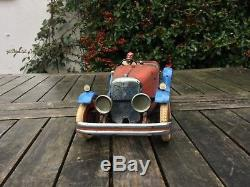 Meccano no 2 clockwork car. Pre war. Working order