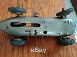 Mercedes tether car toy rare model engine powered 40/50's toy car