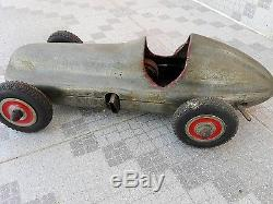 Mercedes tether car toy rare model engine powered post. Cost part final price