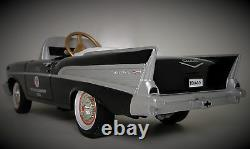 Mini Pedal Car 1957 57 Chevy Too Small To Ride On Metal Body Collector Model