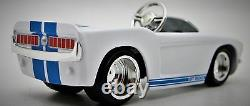 Mini Pedal Car Too Small For Child To Ride On Rare Collector Model Metal Body