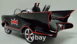 Miniature Batman Batmobile Pedal Car Too Small For Child To Ride On Metal Body