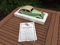 Model car clockwork metal large scale Marklin made in Germany