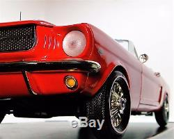 Mustang 1965 Ford 1 GT 12 T Race Sport Car Vintage Concept 40 Model 18 Metal 24