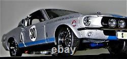 Mustang 1967 Lane Exact Detail Race Car Classic Hot Rod GT Vintage Racing Promo