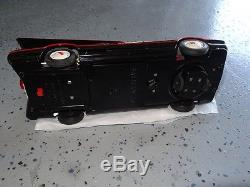 N/r Excellent To Near Mint Asc Black Batmobile Car Battery Operated. Works