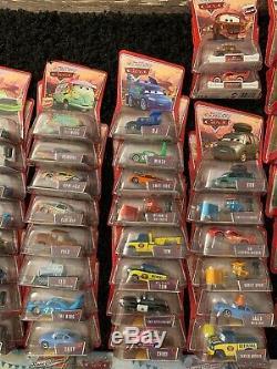 NEW LOT OF 117 Vintage Disney Pixar Cars Mattel Toys 1st And 2nd Wave
