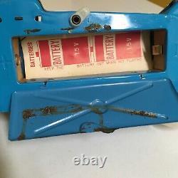 NOMURA TIN, LITE-O-WHEEL BATTERY POWERED GO KART 100% OPERATIONAL WithBOX