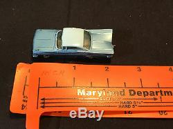 Old Vtg Lesney Matchbox #57 Chevrolet Impala Chevy Grey Wheels Toy Car England