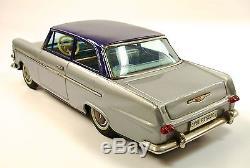 Opel Rekord Japanese Tin 2-Door Sedan Car with Original Box by Bandai NR