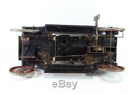 Original 1911 George CARETTE & Co 16 Clockwork Tin Litho Limousine Toy Car