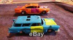 Original 1970s SSP Stock Car Smash Up In Full Working Order C/W Doors, Bonnets