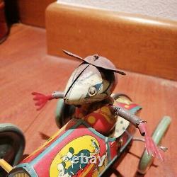 Original Ingap Mickey Mouse Style Tin Car Latta Topolino 1930