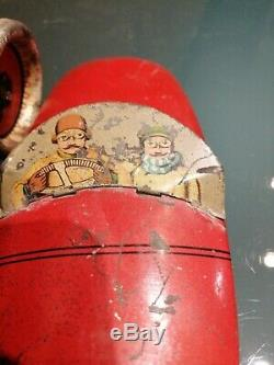 Original Race Car Tin Toy Biscuit HS made By De Andreis Italy No INGAP