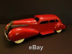 Original WYANDOTTE Lasalle Streamline Car & Airstream Camper 26 Usa 1938