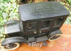 Orobr Germany 1900s tin lizzie jalopy clockwork car bing graffiti gunthermann