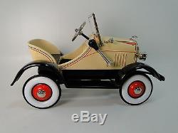 Pedal Car 1920s Ford A Show Hot T Rod Rare Vintage Classic Sport Midget Model