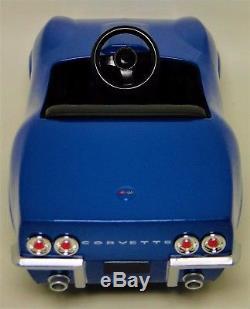 Pedal Car 1969 Corvette Vette Chevy Vintage Chevrolet Sport Hot Rod Midget Model