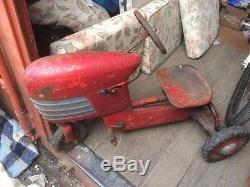 Pedal Car Murray Trac Turbo Drive Tractor 1950s Made In USA