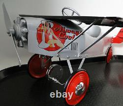 Pedal Car Plane WW2 Metal Ford Aircraft P51 Mustang 1967 Too Small to Ride-On
