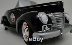 Pedal Car Rare 1930s Ford Vintage Hot Rod Sport Midget Metal Show Model Art