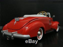 Pedal Car Rare 1940s Ford Vintage Red Metal Collector READ FULL DESCRIPTION PAGE
