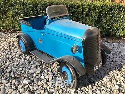 Pedal car. Lines Bros. Early pre triang