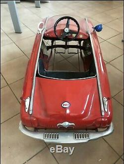 Pedal vintage car 1950 rare old-timer classic auto toy