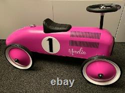 Personalised Pedal Car Grand Racer in Blue